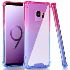 For Samsung Galaxy S9 Case Clear Shock Absorption Flexible TPU Bumper Cover Soft