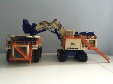 Rare:Liebherr R9800 WESTAR Mining + Liebherr T282B WESTAR Mining 1/50