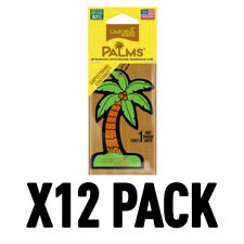 California Scents Hanging Palms Air Freshener MONTEREY VANILLA Fragrance