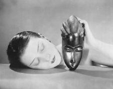 Man Ray African Mask Poster Kunstdruck Bild 60x80cm