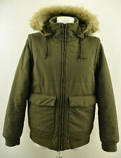 CARHARTT Mens Jacket Outdoor Padded Vest Hooded Parka Windproof 2 in 1 Coat Sz M