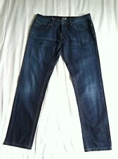 Jean Paul Gautier Men's Button Fly Blue Jeans Made on ITALY Sz35X33 nice looking
