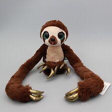 "The Croods Soft Plush Stuffed Toy Monkey Belt The Sloth Doll 10"" 25cm Kids Gift"