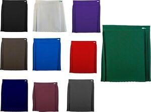 Girls Summer School Uniform P.E. Sports Netball Gym Skirt (Waist Size 22-40) New