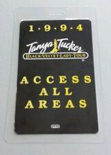 1994 TANYA TUCKER LAMINATED BACKSTAGE PASS AAA BLACK VELVET LADY TOUR