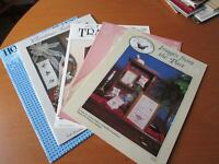 Five Counted Cross Stitch Booklets  -- #01