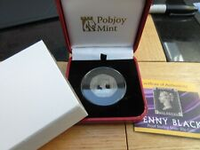 2020 PENNY BLACK 50p FIFTY PENCE SILVER PROOF COIN GIBRALTAR BOXED WITH COA