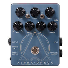 Darkglass Alpha Omega Dual Oversrive Bass DI Preamp Distortion pedal B7KU New