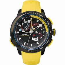 Timex Men's Intelligent Quartz TW2P44500 Yellow Rubber Analog Quartz Yacht Racer