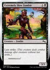 """4x Extremely Slow Zombie (VAR: D - """"...nnnnnsssssss!"""") MTG Unstable NM Magic Reg"""