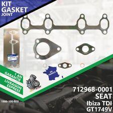 Gasket Turbo SEAT Ibiza TDI 712968-1 712968-0001 712968-5001S GT1749V ASV-020