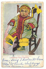 Rieder Publ. L.A., No152, Baby from Chinatown, Greetings From Honolulu 1907 PMK