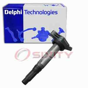 Delphi Ignition Coil for 2010-2017 Toyota Camry 2.5L L4 Wire Boot Spark Plug gy