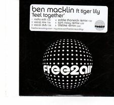 (FT23) Ben Macklin Ft Tiger Lily, Feel Together - 2006 DJ CD
