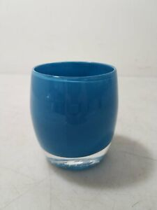 "Glassybaby ""Calm Sea"" Votive Candle Holder"