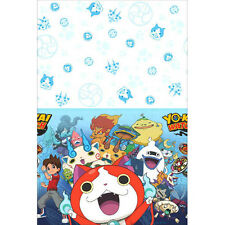 YO-KAI WATCH PLASTIC TABLE COVER ~ Birthday Party Supplies Decoration Cloth Blue