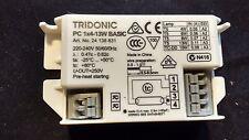 NEW Tridonic PC 1x 4W - 13W T5 BASIC Square Lighting Ballast 240V UK Seller #DS2