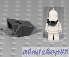 LEGO Star Wars - Dark Gray Armor Pauldron Plastic Clone Trooper Helmet Minifig x