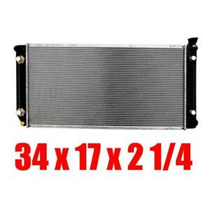 Heavy Duty 34x17x2 1/4 Thick With Engine Oil Cooler Automatic Transmission