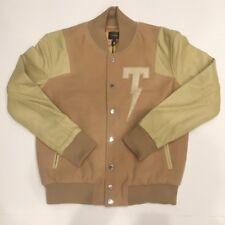 Tackma Thunder T Varsity Jacket Sand Supreme Kith
