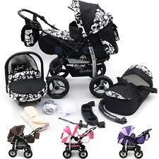 AKTIONS PREIS Kombi Kinderwagen 3in1 Poussette Sportsitz Autositz Babyschale