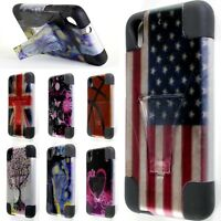 For HTC Desire 626 / 626S Case - Hybrid Heavy Duty Tough Design Kickstand Cover