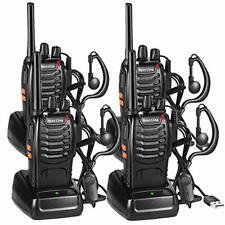 Nestling 4PCS Walkie Talkies Rechargeable Walkie Talkie Long Range Two-Way Radio