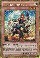 Kozmo Farmgirl Gold Secret Rare Yugioh Card PGL3-EN024