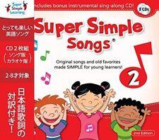 Super Simple Songs 2 Seconda Edizione CD Bambini Ragazzi Inglese