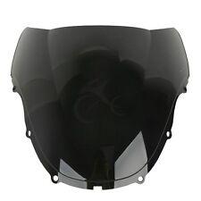 Black Double Bubble Windshield Windscreen For Honda CBR600 F4 1999-2000 USA Ship