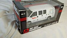 Ertl Die Cast Promotions 2010 HyVee 80th Anniversary GM Chevy 2500 Work Van 1:25