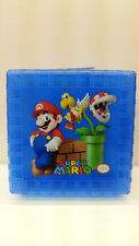 NINTENDO SUPER MARIO SQUARE SANDWICHES BLUE LUNCH BOX WITH DIVIDERS BPA FREE NEW