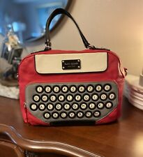 Kate Spade All Typed Up Red Clyde Typewriter Handbag KSNY