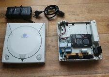 Dreamcast console avec GDEMU (lecteur sd) +  Pico psu( alimentation 12v)+Sd128Go