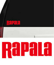 Rapala Sticker Decal Bass Catfish Trout Lure Hooks Sticker Swimbait Window 6 in