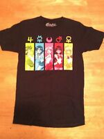 SAILOR MOON Black Cotton Graphic Tee T Shirt TOP Short sleeve size S