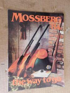 1984 MOSSBERG FIREARMS CATALOG