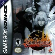 Nintendo GameBoy Advance (GBA) Spiel - Castlevania: Aria of Sorrow
