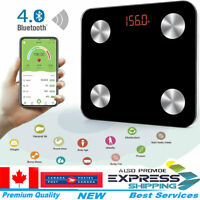 Body Fat Bathroom Weighing Scales Digital BMI Smart Bluetooth Weight