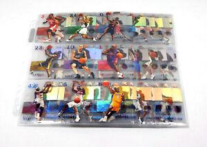 2003-04 Fleer E-X Basketball Set (1-72) Kobe Bryant 203471