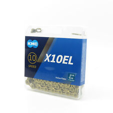 KMC X10EL 10 speed 116L Bike Bicycle Chain for SHIMANO Campagnolo SRAM - Gold