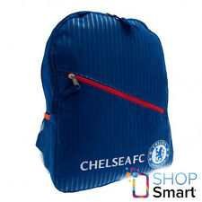 CHELSEA FC BLUE BACKPACK TRAVEL BAG FOOTBALL SOCCER CLUB TEAM OFFICIAL LICENSED