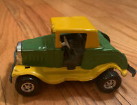 Vintage 1970 Topper Boomer Junk Pile Toy Car Pressed Steel Rare 5 inches