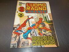 L'UOMO RAGNO GIGANTE 59 SERIE CRONOLOGICA A COLORI CORNO SPIDER-MAN OTTIMO!1981
