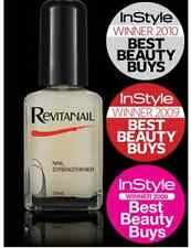3 X REVITANAIL NAIL STRENGTHENER ENRICHED WITH CALCIUM DAMAGED NAILS 30ML = 90ML
