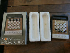 Novag Micro chess original 80's travel chess game