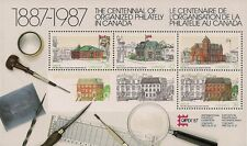 Canada Stamps -Souvenir Sheet -Post Offices -CAPEX 87 #1125A -MNH