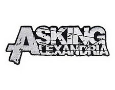 """Asking Alexandria Embroidered Iron On Sew On Metal Jacket Patch 4.6"""""""