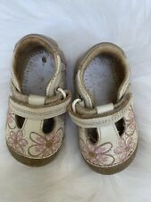 Stride Rite Baby Toddler Girls Hook & Loop Mary Jane Shoes Size 3 W