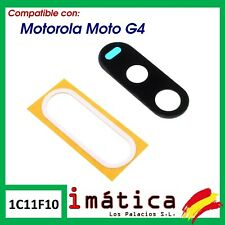 CRISTAL CAMARA PARA MOTOROLA MOTO G4  XT1622 LENTE LENS CAMERA NEGRO REPUESTO